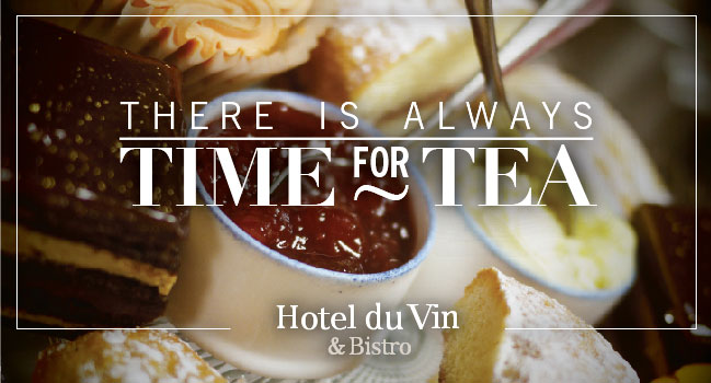 Hotel du Vin Events - Afternoon Tea