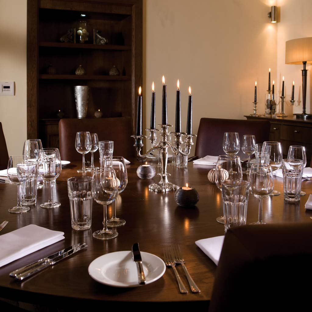 Private Dining Rooms Edinburgh