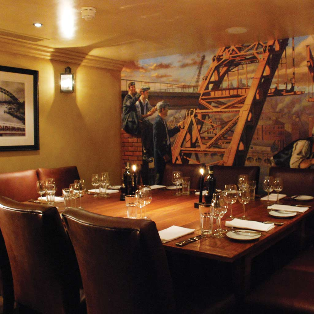 Hotel du Vin Newcastle Private Dining