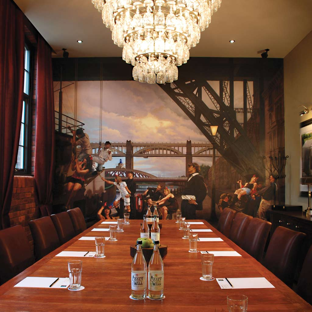 Hotel du Vin Newcastle Meeting Room